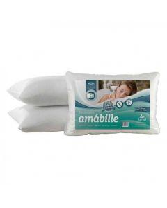 Travesseiro Lynel Amábile 50x70 Malha Gel - Branco