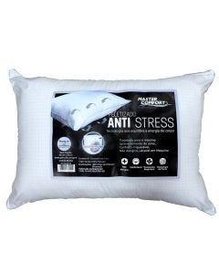 Travesseiro 50x70 Anti-Stress Master Comfort - Branco