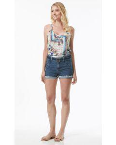 Short Jeans Feminino Sawary