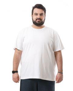 Camiseta Masculina Plus Size Starfield -Branco-G2
