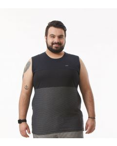 Regata Masculina Plus Size Starfield