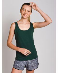 Regata Feminina Fitness K2B - Verde Escuro
