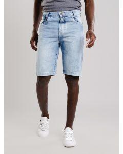 Bermuda Masculina Jeans Slim