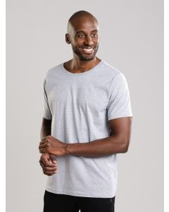 Camiseta Básica Masculina - Cinza
