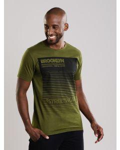 Camiseta Masculina Brooklin - Verde
