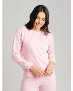 Blusa Feminina de Moletom - Rosa