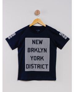 Camiseta Infantil Menino - Azul