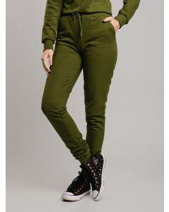 Calça Feminina de Moletom - Verde