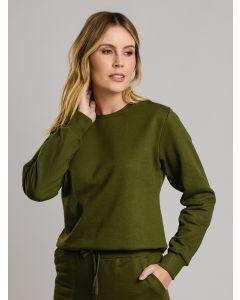 Blusa Feminina de Moletom - Verde