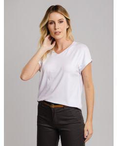 Blusa Feminina Básica - Branco