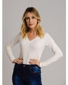 Blusa Feminina Canelada - Off White