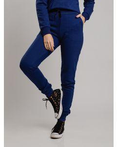 Calça Feminina Moletinho - Azul