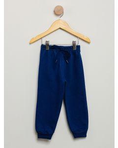 Calça de Moletom Menino Cordão - Azul Marinho