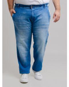 Calça Masculina Gangster Jeans Plus Size - Azul