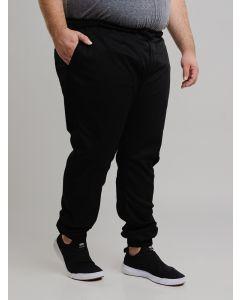 Calça Masculina Gangster Plus Size Jogger - Preto