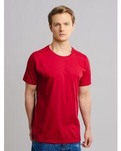 Camiseta Masculina Básica Gola Redonda - Vermelho