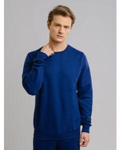 Blusa Masculina de Moletom - Azul
