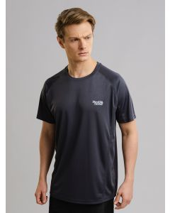 Camiseta Masculina Dry Fit Red Nose - Cinza