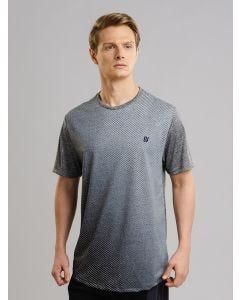 Camiseta Masculina Riscos - Cinza