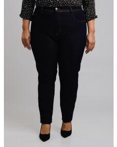 Calça Feminina Jeans Plus Size - Azul