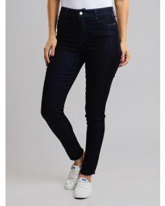 Calça Feminina Jeans Desfiada - Azul