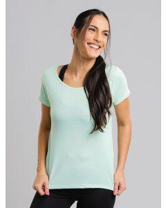 Camiseta Feminina Esporte - Verde