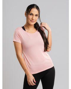 Camiseta Feminina Esporte - Rosa