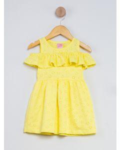 Vestido Infantil - Amarelo