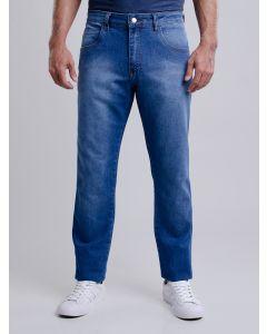 Calça Masculina Jeans Reta - Azul