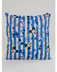 Almofada Mickey Team 45x45 Andreza - Azul