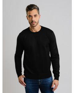 Suéter Masculino Tricot - Preto