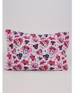 Porta Travesseiro MInnie - Rosa