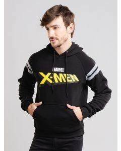 Blusa de Moletom Masculina X-Men - Preto