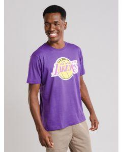 Camiseta Masculina Lakers NBA - Roxo