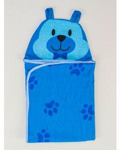 Toalha de Banho Infantil Funny - Azul