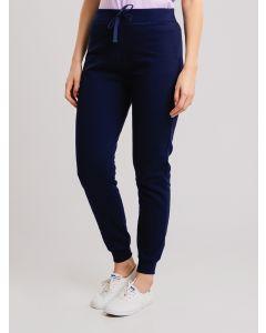 Calça Feminina de Moletom Básica - Azul