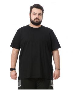 Camiseta Masculina Plus Size Starfield - Preto -Preto-G2