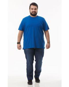 Calça Masculina Jeans Plus Size Rowers - Azul