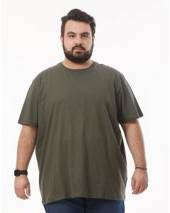 Camiseta Plus Size Básica Starfield - Verde - G1
