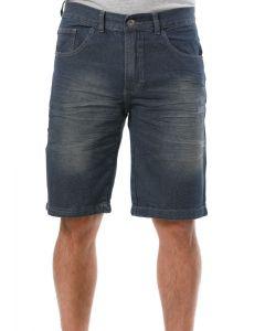 Bermuda Masculina Jeans Preston - Preto