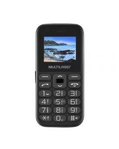 Celular Multilaser Vita Tela 1,8 Pol. Dual Chip 2G USB Bluetooth - Preto