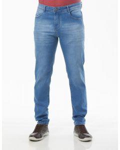 Calça Masculina Jeans Puídos Delavê Radiance - Azul