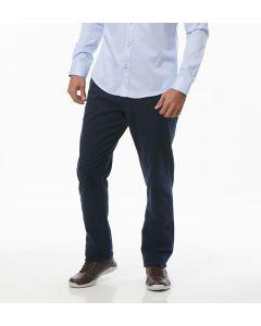 Calça Masculina Sarja Bolso Faca - Azul