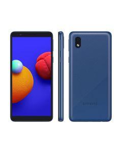 "Smartphone Samsung Galaxy A01 Core 32 GB Tela 5,3"" Câm. 8MP + Selfie 5MP - Azul"