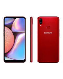 Smartphone Samsung Galaxy A10s 32GB Câmera Dupla - Vermelho