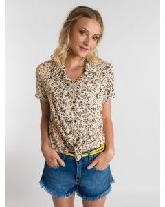 Camisa Feminina Estampa Floral