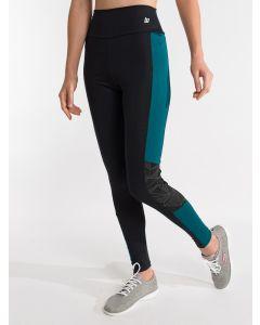 Calça Legging Feminina Esporte Refletivo Eletric - Preto