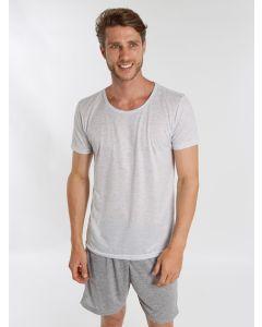 Pijama Masculino Curto Mescla