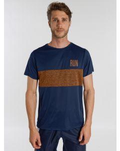 Camiseta Esporte Masculina Recortes