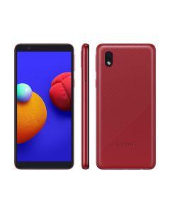 "Smartphone Samsung Galaxy A01 Core 32GB Tela 5,3"" Câm. 8MP + Selfie 5MP - Vermelho"